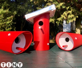 Birdhouse From an Old PVC Pipe