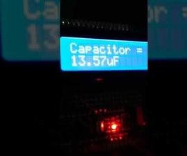 Arduino Nano Capacitance Meter