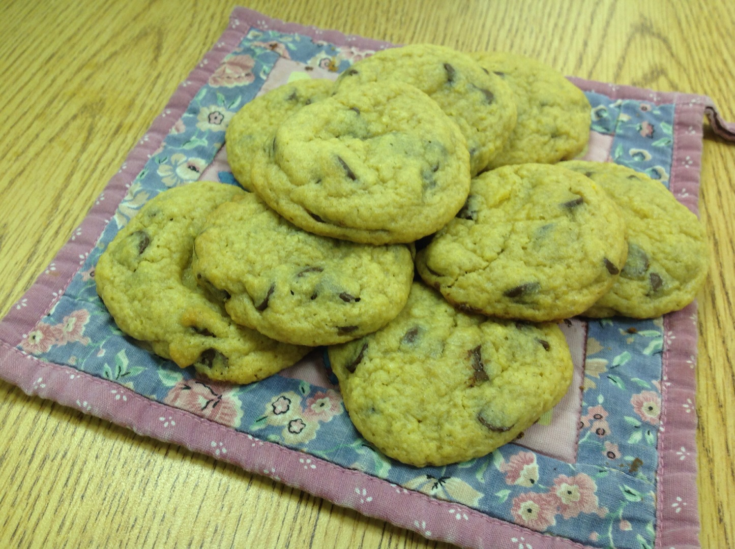 Picture of Soft-Baked Homemade Chocolate Chip Cookies