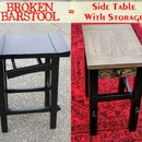 From Broken Stool to Side Table