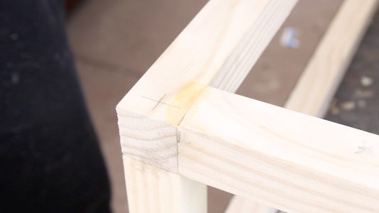 Insert Dowels Into the Frame