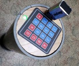 Gadget Cashe Post for Treasure Hunts