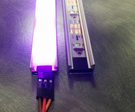 Quick and Easy Rugged LED Strip!