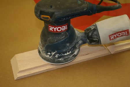 Sanding and Glue Up