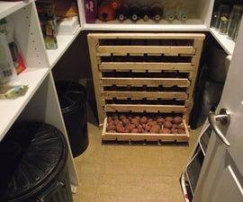 Rough and Ready Veg Storage