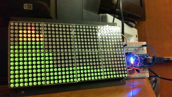 Arduino / Processing Audio Spectrum Analyzer