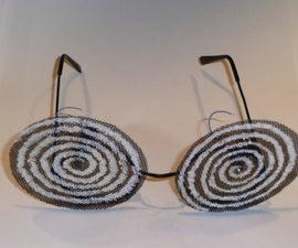 Swirling Psychedelic Glasses (motorised)