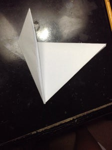 Then Get the Top Left Corner and Folding It in the Middle