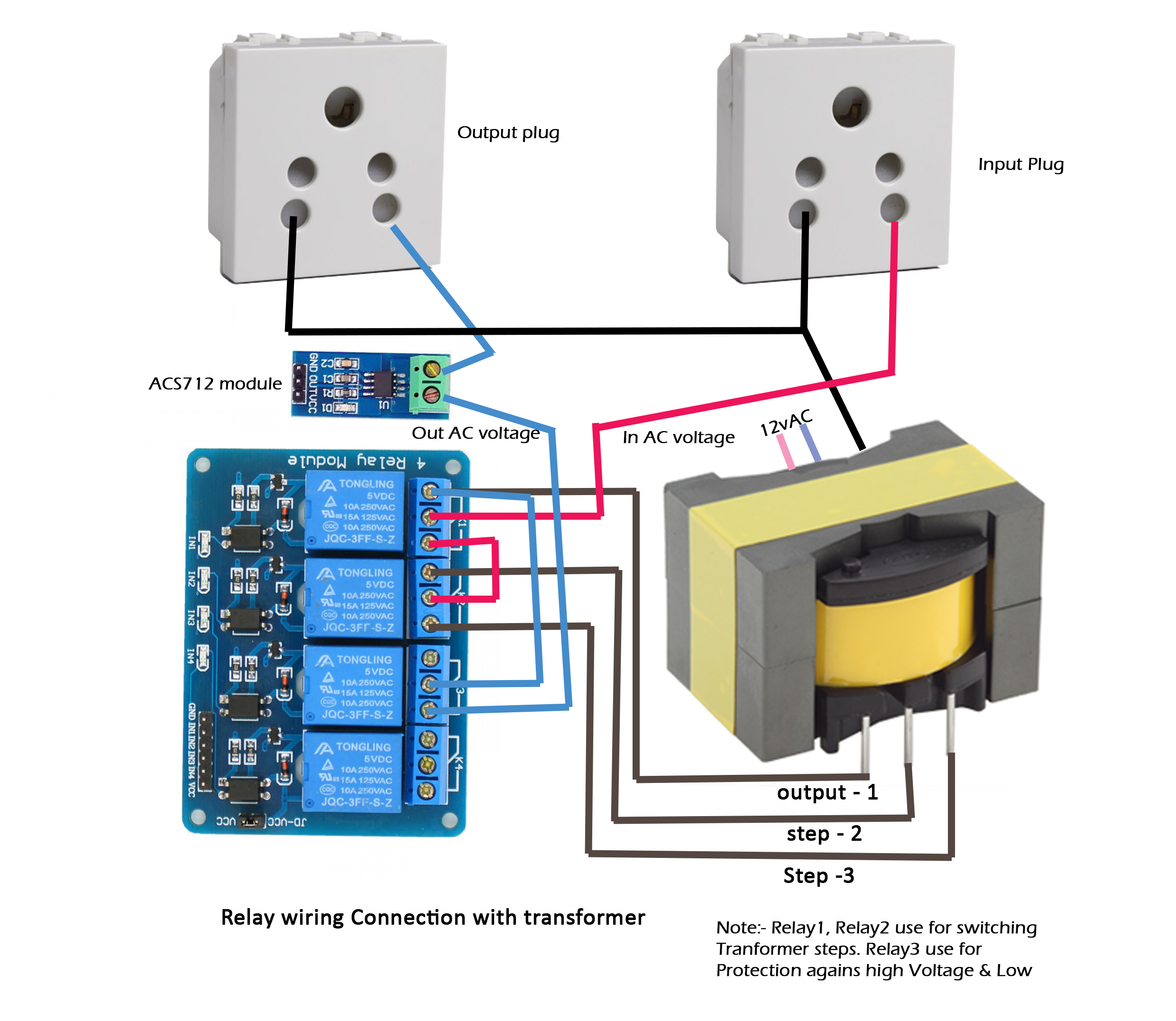 Picture of Schematic, Diagram & Connection