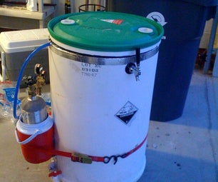 Portable Keg Cooler (a.k.a. R2-Beer2)