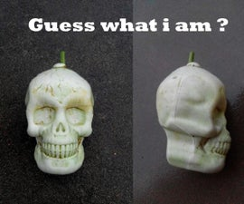 how to make skull shape fruit and vegetables