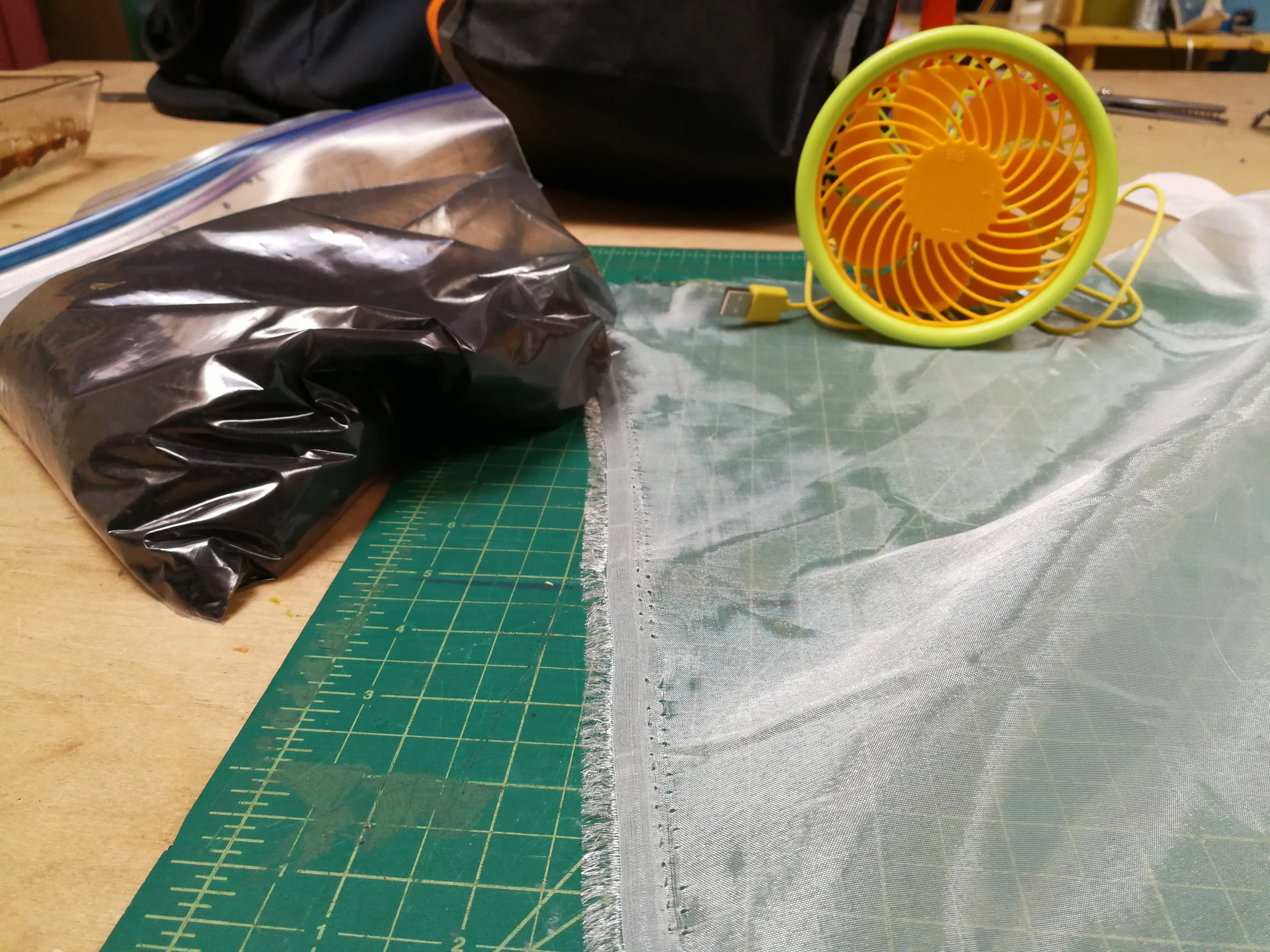 Picture of Sew Your Own Carbon Air Filter for $10
