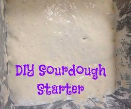 Easy DIY Sourdough Starter