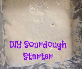 Easy DIY Sourdough Starter