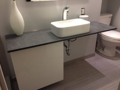 How to Make a Floating Vanity Countertop
