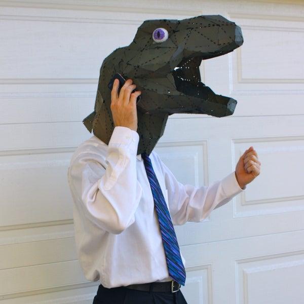 Corporate Tyrannosaurus Rex Halloween Costume