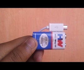 How to Make a 9v Battery Charger