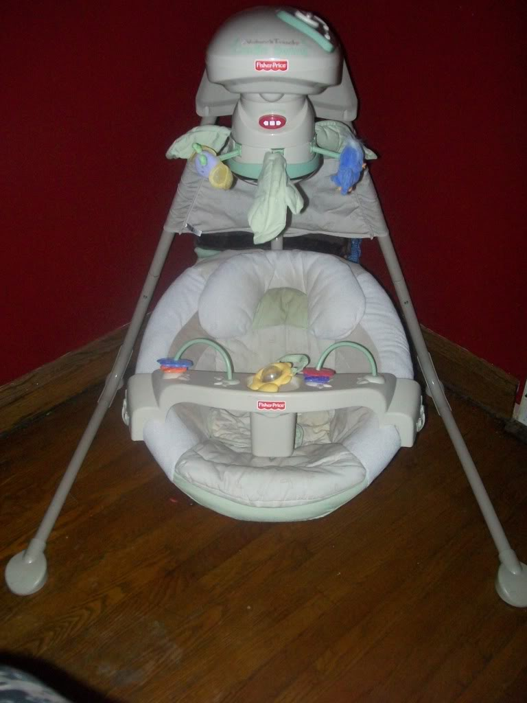Repair Your Fisherprice Cradle Swing 4 Steps Instructables