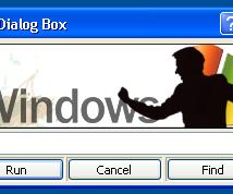 Customize Your Run Dialog Box