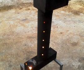 Waste oil heater Spark