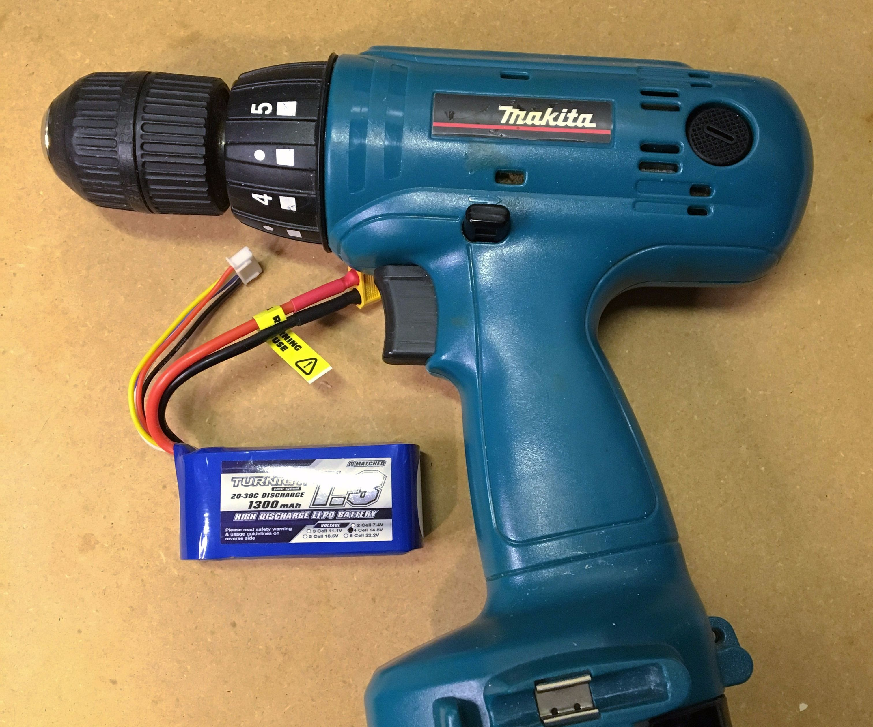 convert old cordless tools to lithium power 5 steps (with pictures)Liion Rechargeable Power Tool Battery With Short Circuit Production #13