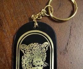 Brass Souvenir - Keychain