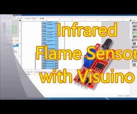 Arduino Nano: Flame Sensor With Visuino