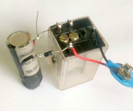 Charging a Capacitor With a Relay