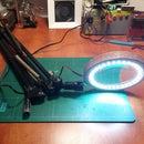 DIY Desktop LED Magnifier Lamp