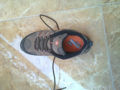 Hack / Break in Tight Hiking Shoes