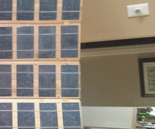Foldable, Lightweight Solar Panel