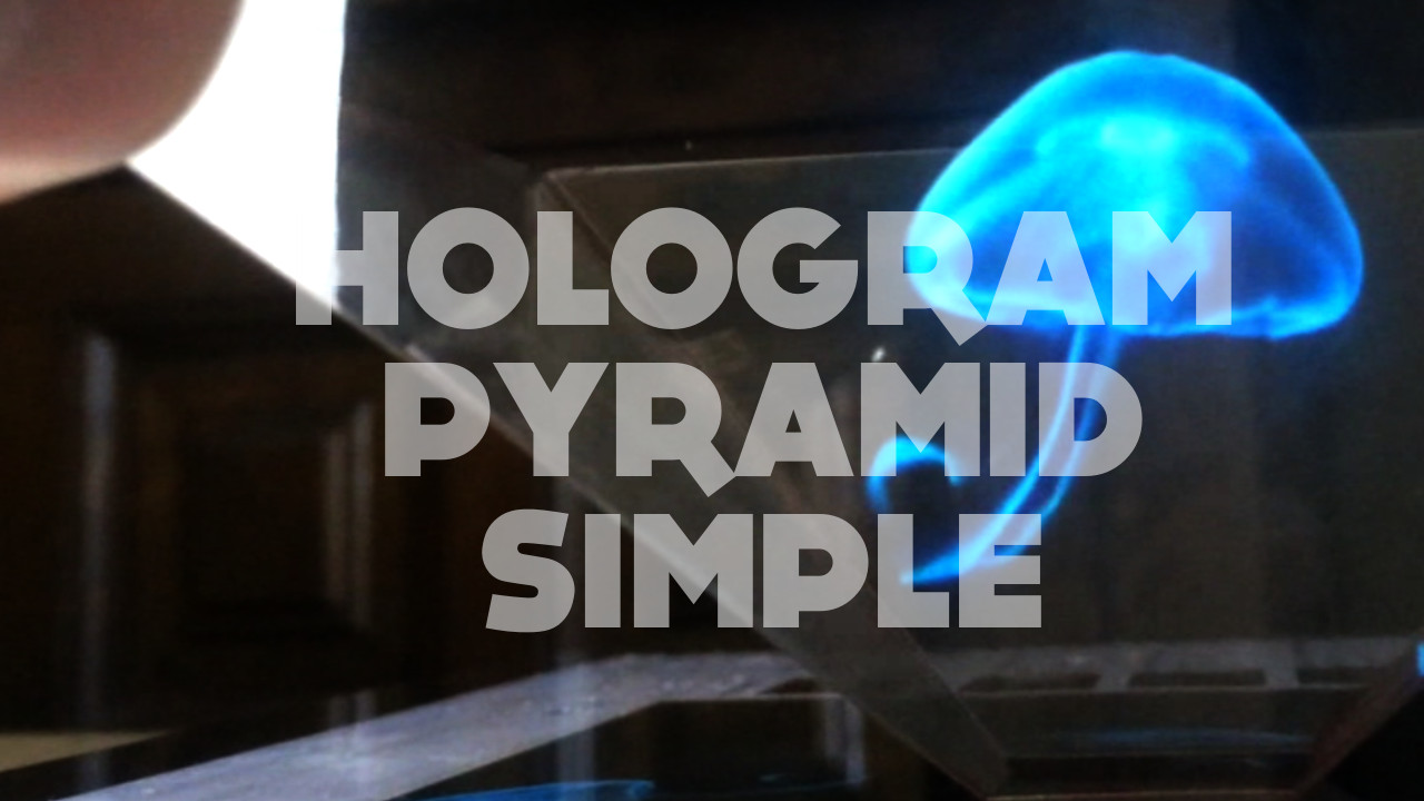 Picture of DIY Hologram Pyramid