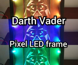 Neo Pixel LED Picture Frame