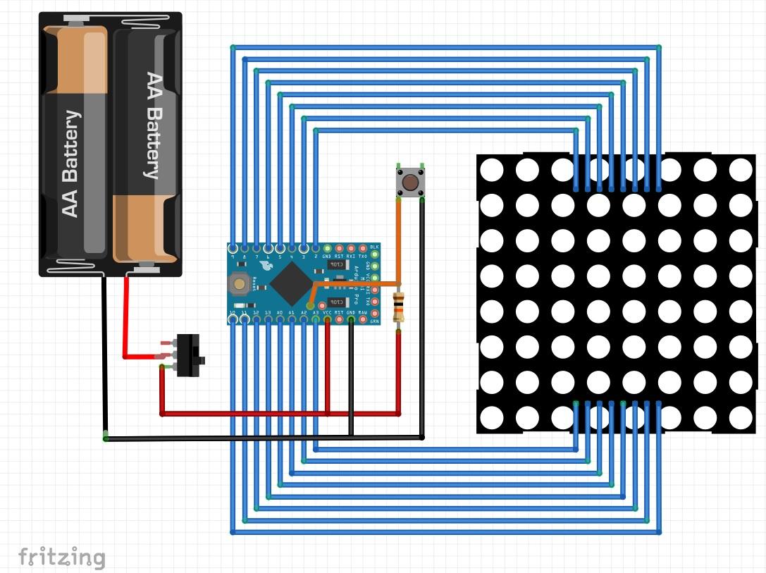Picture of Design of Circuit Diagram.