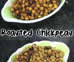 Roasted Chickpeas - Two Spice Mixes