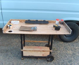 BBQ to work cart