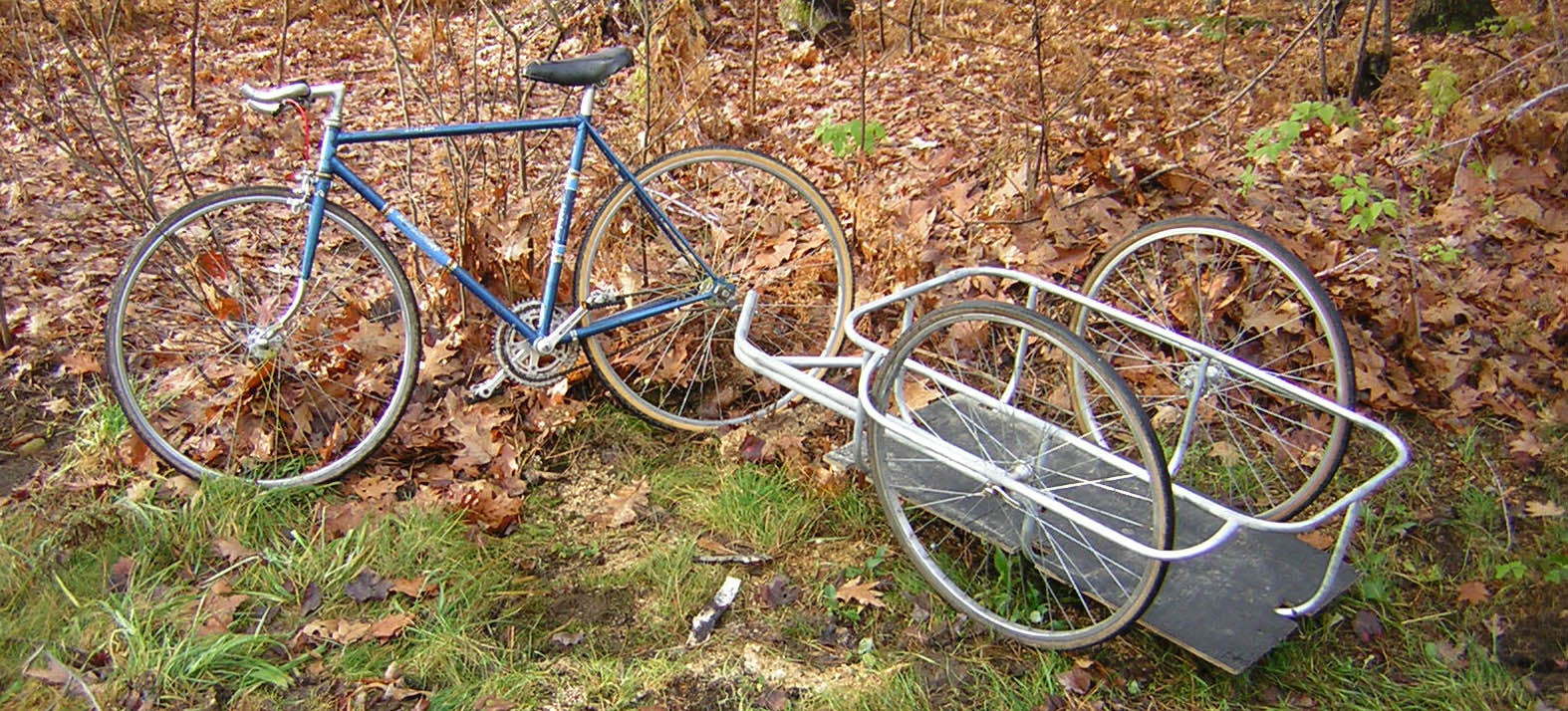 Bicycle Cargo Trailer--200 Lb Capacity, $30 for Parts: 16 Steps ...