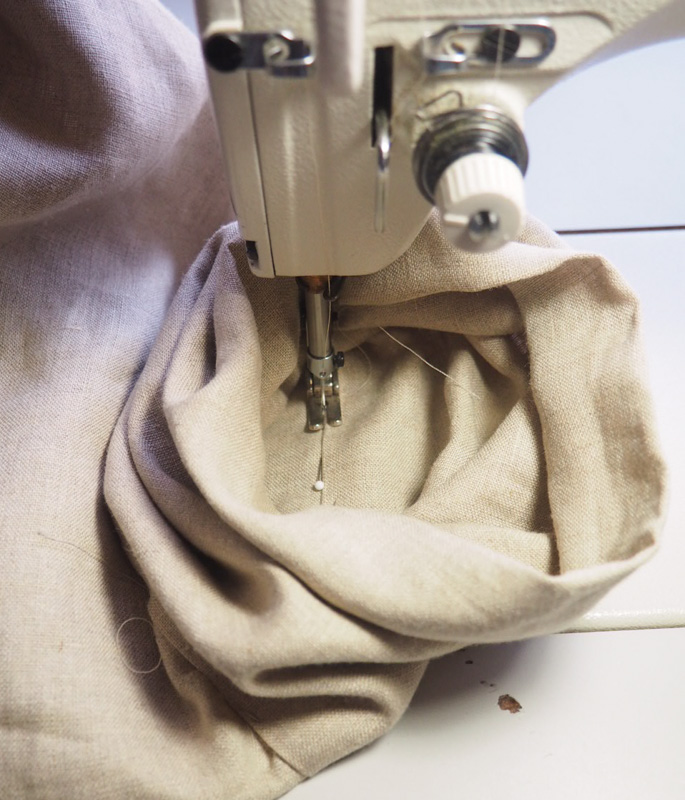 Picture of Sewing Sleeve Cuff