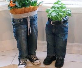 Blue Jean Planters