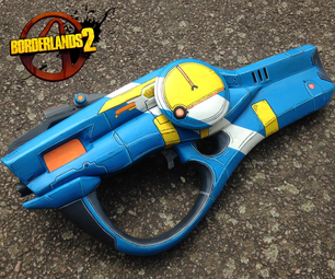 Borderlands 2: Maliwan Hellfire Foam Prop