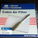How to replace the cabin air filter on the Hyundai Tiburon 2008