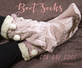 Warm Boot Socks for Any Foot