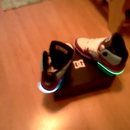 My Light Up Tron Shoes 2.0