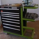 Rolling Tool Cart With Shelves