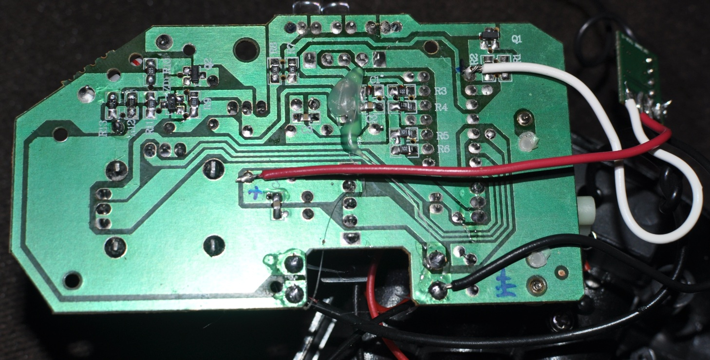 Picture of Modifying the Transmitter