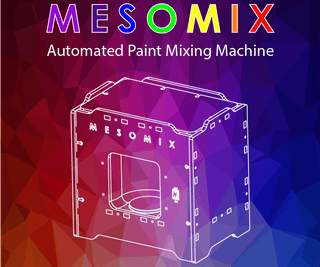 MESOMIX - Automated Paint Mixing Machine