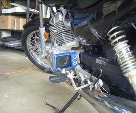 Motorcycle Rear Footpeg Camera Mount