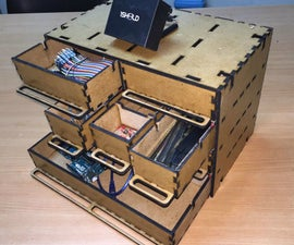 Make your own Storage Drawer works with voice recognition (1Sheeld - Arduino )