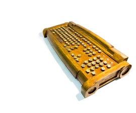 SteamPunk keyboard k1.