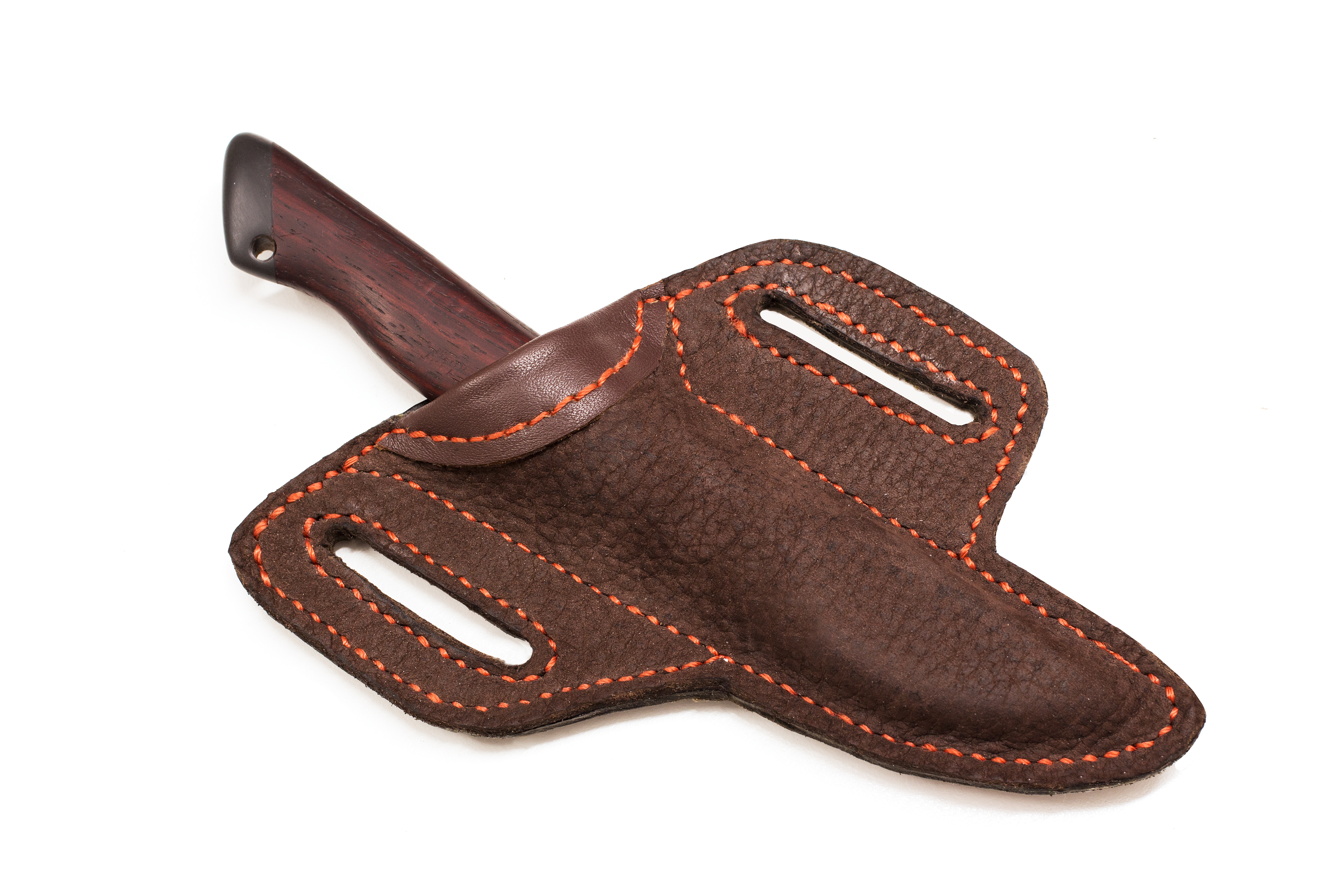 Picture of Buffalo Leather Sheath for a Carving Knife